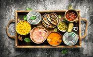 عوارض مصرف غذاهای کنسرو شده