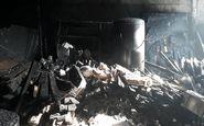 چند کشته و مصدوم در آتش سوزی مجتمع مسکونی در قم