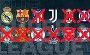 فوتبال اروپا آماده اخراج رئال، بارسا و یوونتوس است!