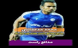 محمد مد ملیسی؛ بهترین مدافع راست هفته اول لیگ یک