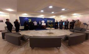 گزارش تصویری افتتاح غرفه مجازی «روشنای خاطرهها» با بیش از هزار عنوان کتاب دفاع مقدس