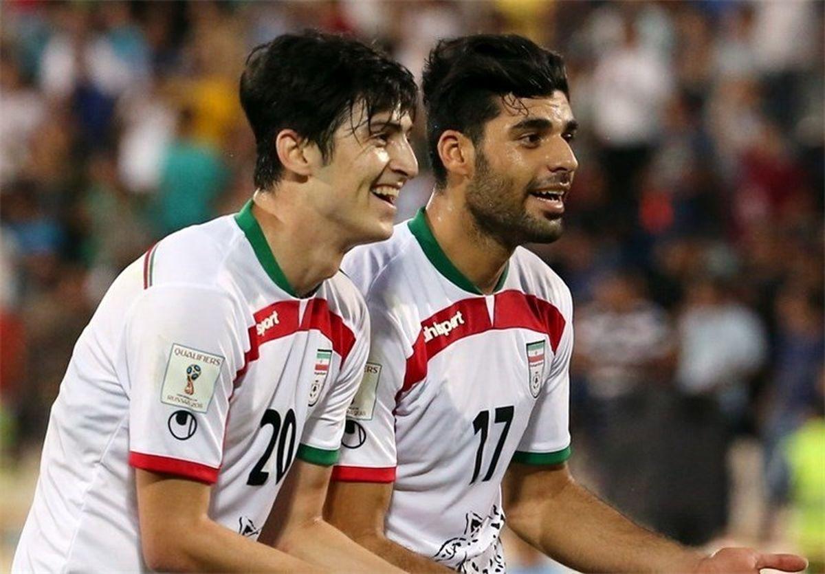 زوج ویرانگر خط هجومی ایران در بازی امشب