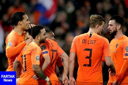 رونمایی از ترکیب اصلی هلند و انگلیس
