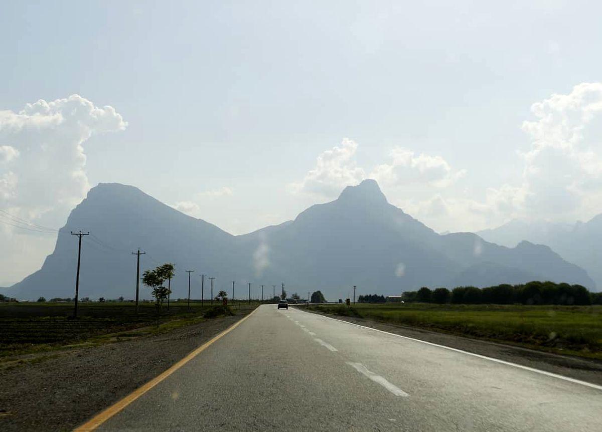 اعمال محدودیتهای تردد در جادههای کرمانشاه