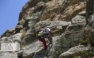 نجات جان گردشگران در آبشار آب گرمه دورود