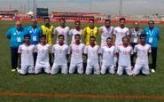 تیم ملی فوتبال هفتنفره ایران در جایگاه پنجم قرار گرفت
