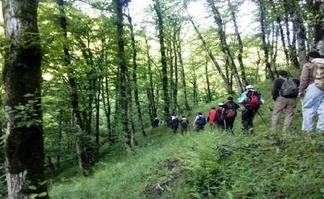 پیدا شدن 5 کوهنوردان گمشده در ارتفاعات لاتون آستارا