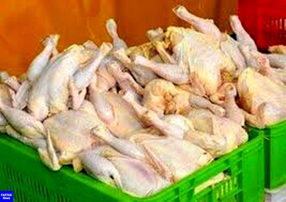 یک تن گوشت مرغ فاقد مجوز در رودسر کشف شد