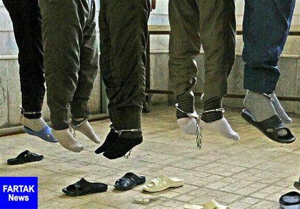 ۶ سارق طلا در مشهد به دار مجازات آویخته شدند