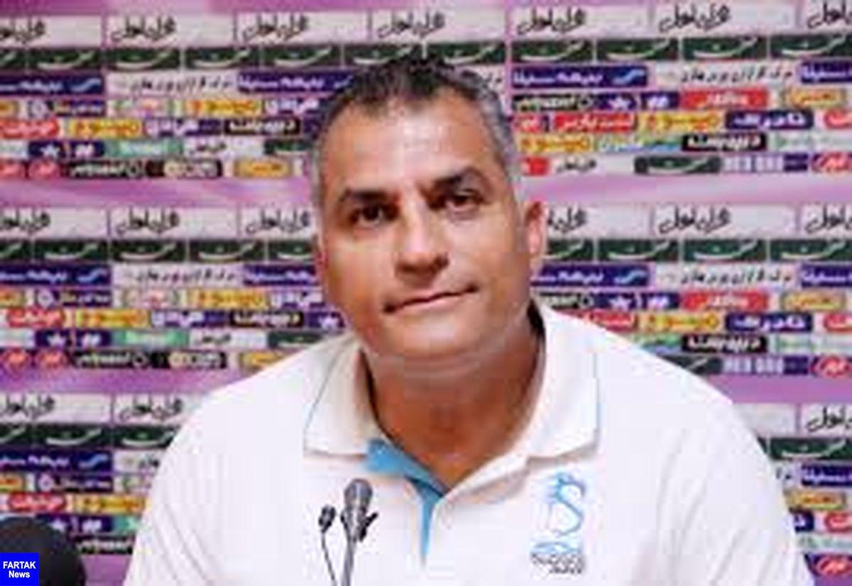 کعبیانپور: از بازی با استقلال 3 امتیاز میخواهیم، صددرصد در لیگ میمانیم