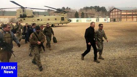 سفر وزیر دفاع آمریکا به افغانستان