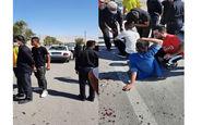 تصادف خونین خودروی زائران عتبات در ایلام+ عکس