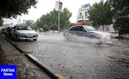اخطاریه هواشناسی؛احتمال وقوع سیل در 10 استان