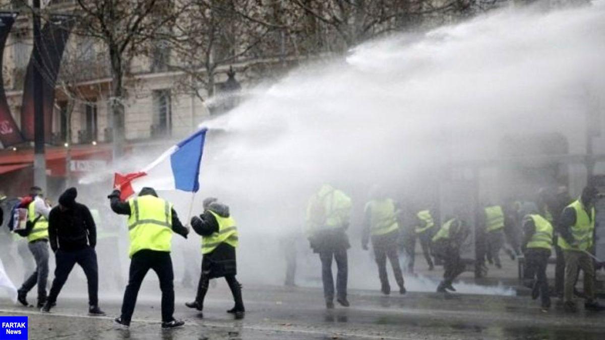 تظاهرات سراسری فرانسه به خشونت کشده شد