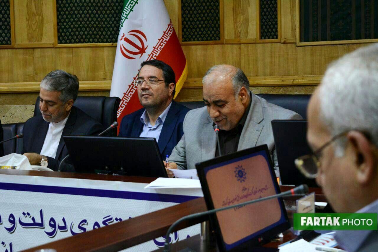 شورای گفتگوی دولت و بخش خصوصی استان کرمانشاه با حضور وزیر صمت