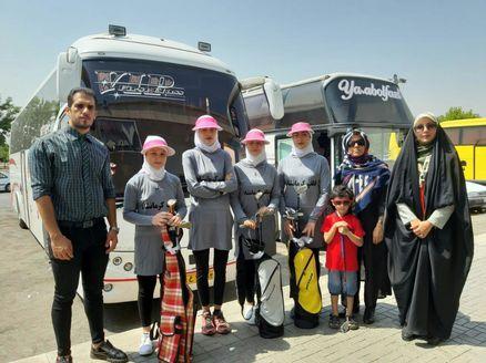 اعزام دختران گلفباز کرمانشاهی به دومین دوره المپیاد استعدادهای برتر گلف کشور
