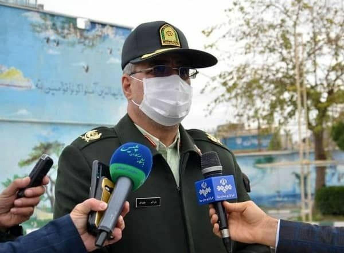 انهدام باند توزیع سلاح غیرمجاز در کرمانشاه/88 قبضه اسلحه کشف شد