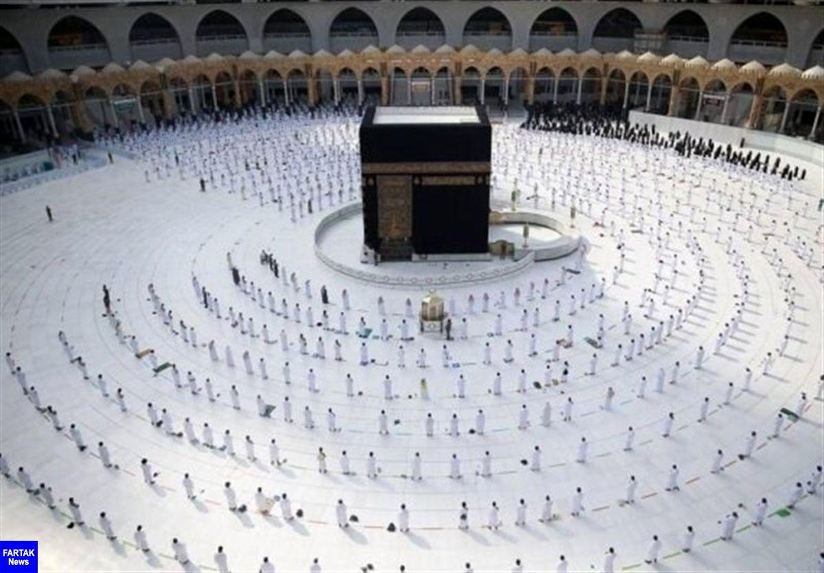 آغاز مراسم حج به شکل محدود در عربستان