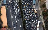 ترافیک سنگین در محورهای مواصلاتی مازندران