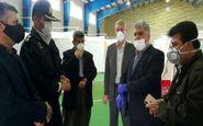 بازدید از نقاهتگاه بیماران کرونایی شهرستان پاوه