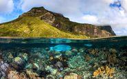 عکس منتخب نشنال جئوگرافیک | ملاقات دریا و کوه
