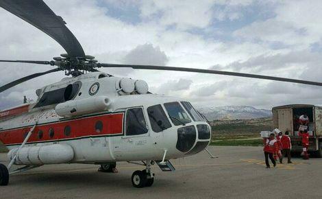 آخرین وضعیت مناطق سیل زده ایلام/امدادرسانی با بالگردها ادامه دارد