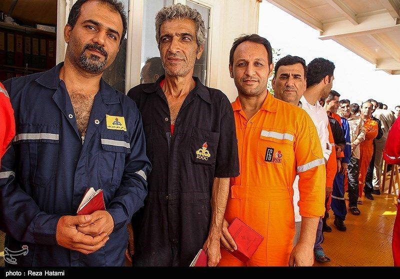 انتخابات ریاست جمهوری و شورای شهر- جزیره خارک + تصاویر