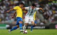 برزیل 1 - 0 آرژانتین؛ پیروزی در دقیقه 3+90