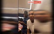 شادی بازیکنان فرانسه در رختکن پس از قهرمانی