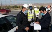 رانندگان عبوری از خراسان شمالی بیش از ۴ هزار تذکر کرونایی گرفتند