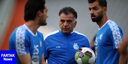 طاهری: امیدوارم هوادارانمان فردا برای استقلال و خسرو حیدری به ورزشگاه بیایند