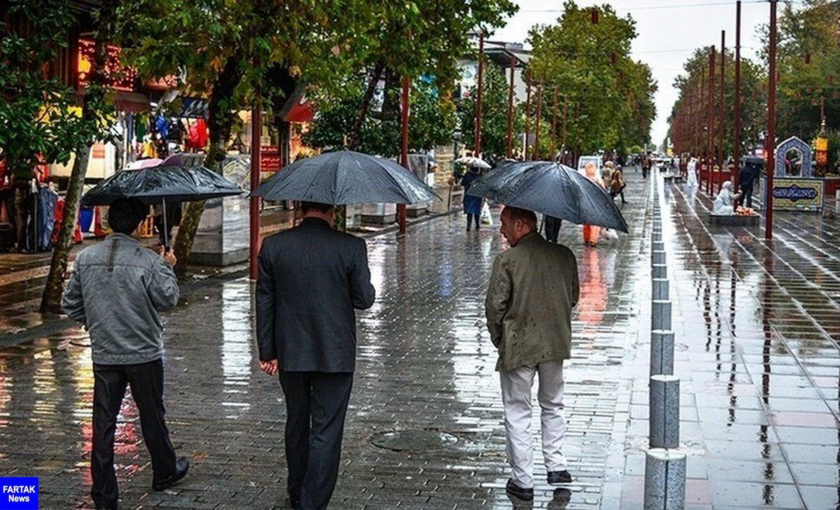 اعلام سطح هشدار نارنجی در البرز در اثر فعالیت سامانه بارشی