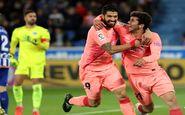 بارسلونا در یک قدمی فتح لالیگا قرار گرفت
