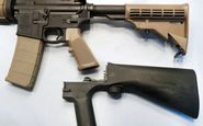 ترامپ در پی ممنوع کردن وسیلهای که سلاحهای نیمهخودکار را تقویت میکند