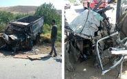 برخورد خودروها در خراسان شمالی ۳ کشته برجای گذاشت