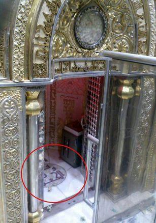 محل ضربت خوردن امام علی علیه السلام +عکس