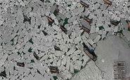 گرفتار شدن قایقهای چینی در یخبندان + فیلم