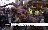 پشمالوهای بدترکیب در خیابانهای آلمان