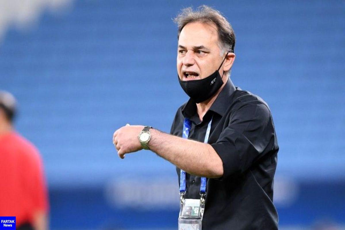 نامجو مطلق: کار زیاد سختی برای صعود به جام جهانی نداریم