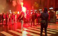 اعتراض مردم ایتالیا به محدودیتهای کرونایی
