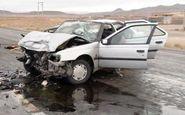 تصادف دلخراش در کرمانشاه/پدر و مادر در دم جان باختند!
