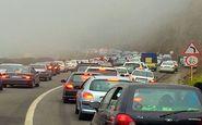 محدودیت های ترافیکی جاده چالوس