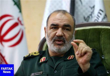 سردار سلامی:به قلبهای محکم مردم ایران نیاز داریم