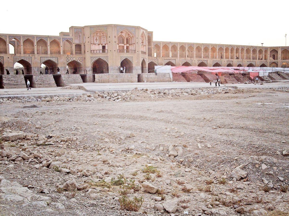 حادترین شرایط خشکسالی کشور در اصفهان