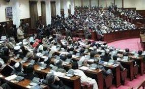 کتک کاری زنان مجلس افغانستان با دمپایی ! + فیلم