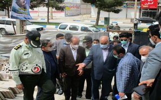 گزارش تصویری/ بازدید استاندار کرمانشاه از پروژه های عمرانی شهرستان سرپل ذهاب