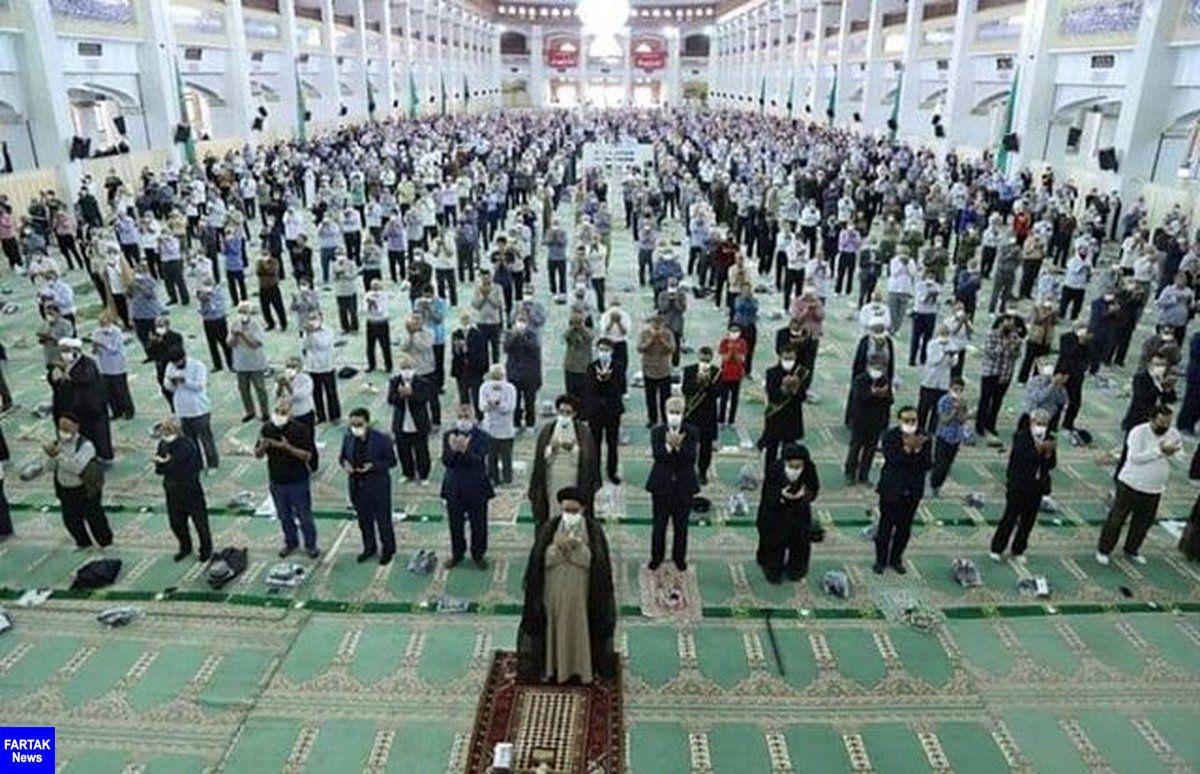 نماز عید قربان با رعایت دستورالعمل های بهداشتی، در حرم حضرت معصومه(س) اقامه می شود