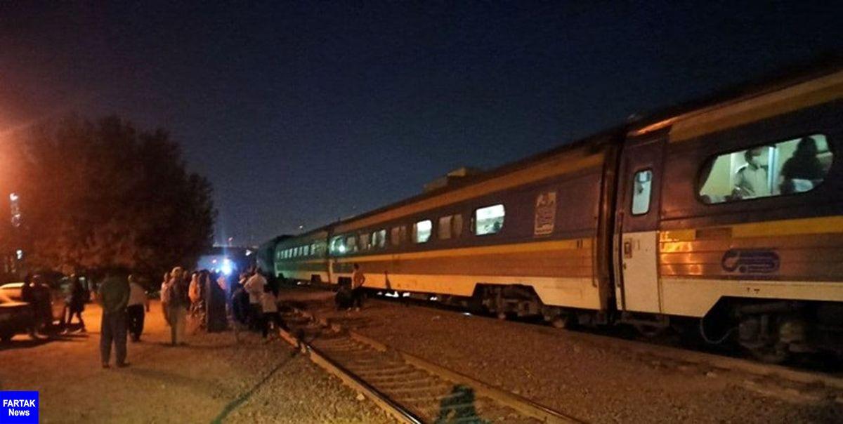 تصادف با قطار در شهرقدس جان شهروند دیگری را گرفت