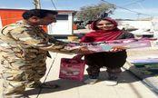 هدایای ارتش به مردم زلزله زده کرمانشاه