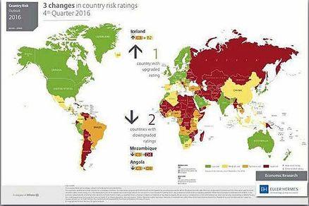 رتبه ریسک کشورها؛ ریسک ایران چقدر است؟